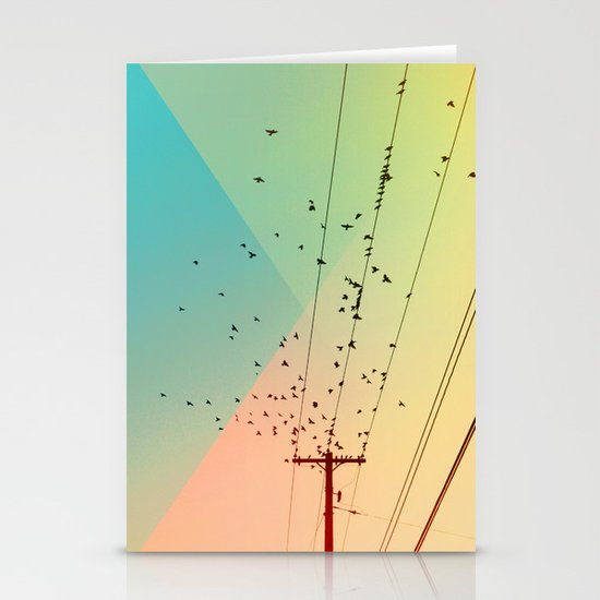 Cool World #1 Stationery Card