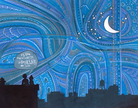 Brooklyn Sky Art Print