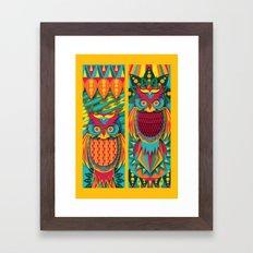 Owl's Framed Art Print