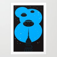 Invaders Art Print