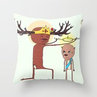 He Will Rule From Sea To Sea Throw Pillow