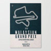 2013 Malaysian Grand Prix Canvas Print