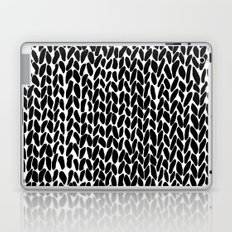 Hand Knitted Black S Laptop & iPad Skin