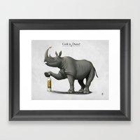 Cork it, Durer! Framed Art Print