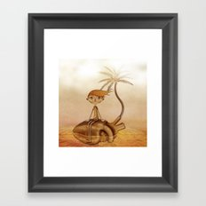 Wreck Framed Art Print