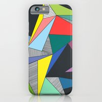 iPhone & iPod Case featuring Abstract Triangles by Lara Trimming