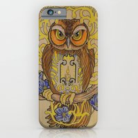 iPhone & iPod Case featuring Forget Me Not by Sam Rusk