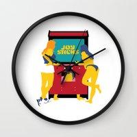 Joy Sticks Wall Clock