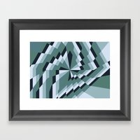 Angled Box Framed Art Print