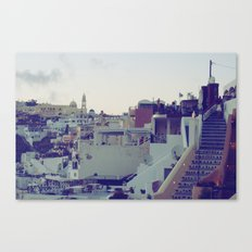 Fira at Dusk V Canvas Print