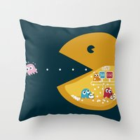 Indoor Games Throw Pillow