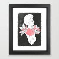 Marjorie Framed Art Print