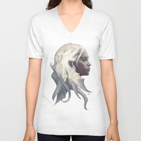 Mother of Dragons V-neck T-shirt