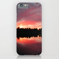 iPhone & iPod Case featuring Lake Sky by Laurkinn12