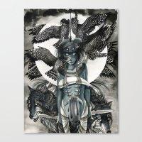 Peregrine  Canvas Print