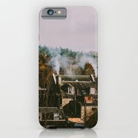 iPhone & iPod Case featuring Scottish Rooftops by norakathleen