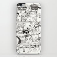 PeopleI iPhone & iPod Skin