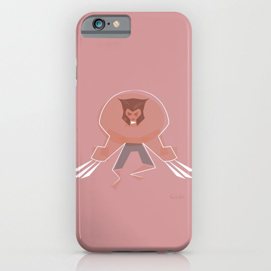 Wolverine furious furry iPhone & iPod Case
