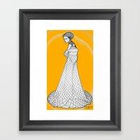 Nouveau Framed Art Print