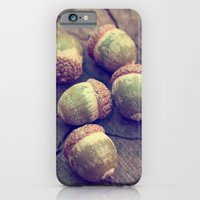 iPhone & iPod Case featuring acorns by shannonblue