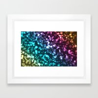 Colourful.  Framed Art Print