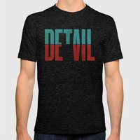 Devil In The Detail. Mens Fitted Tee Tri-Black SMALL