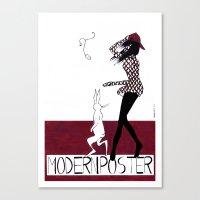 MODERN POSTER Canvas Print