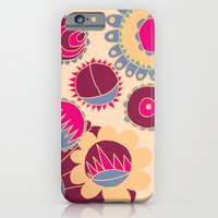 iPhone & iPod Case featuring Flower Doodle by Ellie And Ada