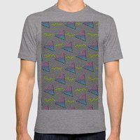 Fun Pattern Mens Fitted Tee Athletic Grey SMALL