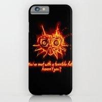 iPhone & iPod Case featuring Majora's Mask Fire by Daniel Delgado