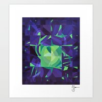 Out Of Control Art Print