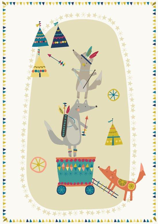Wolf Adventure Art Print