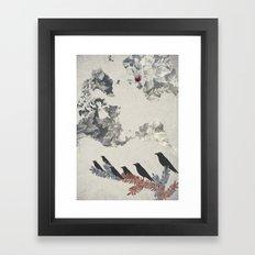 The Carrion Crow 2 Framed Art Print