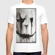Ghoulsmear Mens Fitted Tee SMALL White