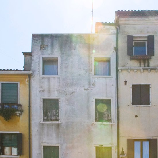 Building Up - Italy Art Print