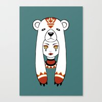 Polar Tribe Canvas Print