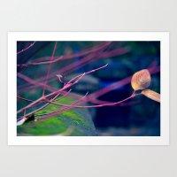 Twigs Art Print