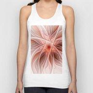 Flower Decoration Unisex Tank Top