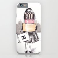 iPhone Cases featuring Shopping Junkie by anna hammer