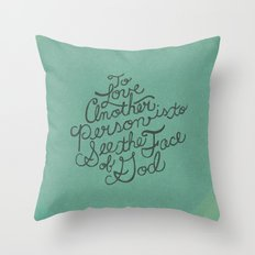 To Love Another... Throw Pillow