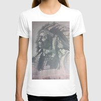 Indian Spirit Womens Fitted Tee White SMALL