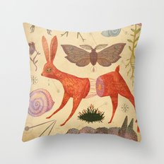 Beautiful feeling (Collection I) Throw Pillow