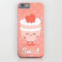 Sweet Cherry Cake iPhone 6 Slim Case