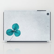 blue clover iPad Case