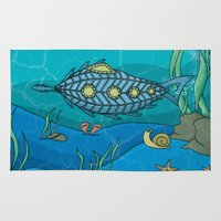 Nautilus Under The Sea Rug