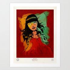 Veneno Vil Art Print