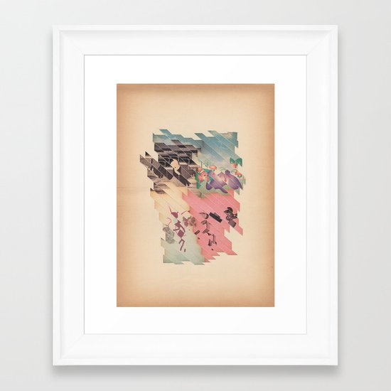 s t r i s c i a t o Framed Art Print