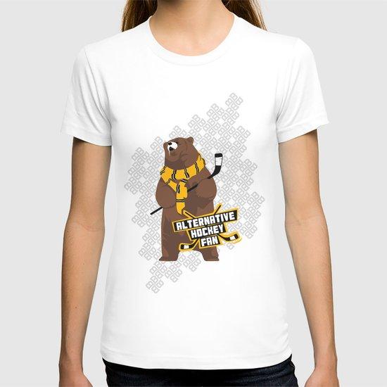 Alternative Hockey Fan - Boston T-shirt