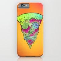 Skull Slice Neon iPhone 6 Slim Case