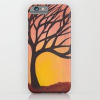 Orange Sunset iPhone 6 Slim Case